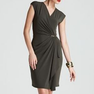 Michael Kors Faux Wrap Dress